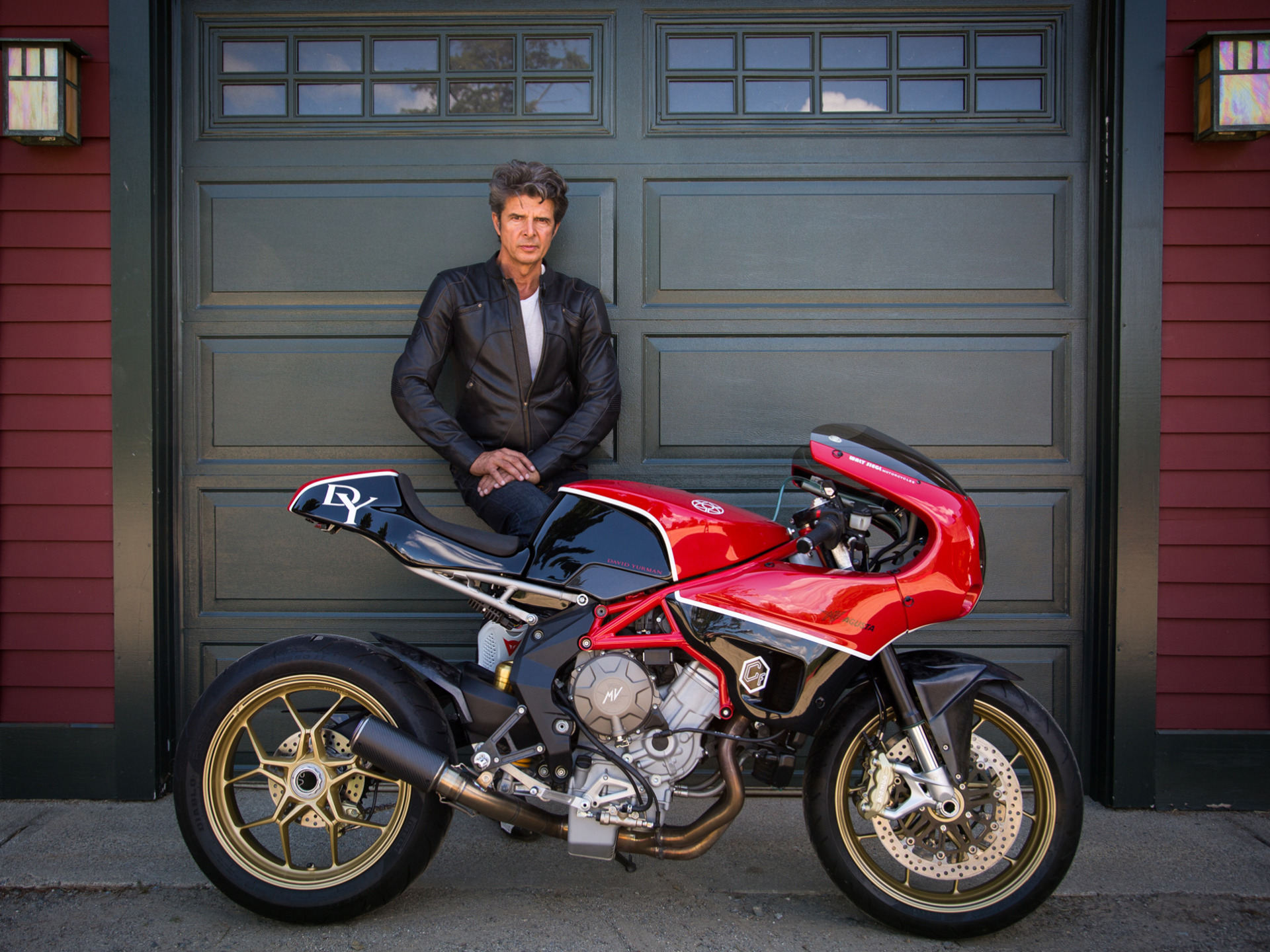The Motorcycle Portraits